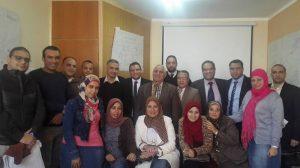 ختام-فعاليات-احدى-برامج-المركز-العربى
