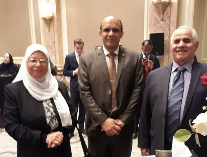 تشرفت بالدعوة الكريمة من معالى سفير سلطنة عمان بالقاهرة
