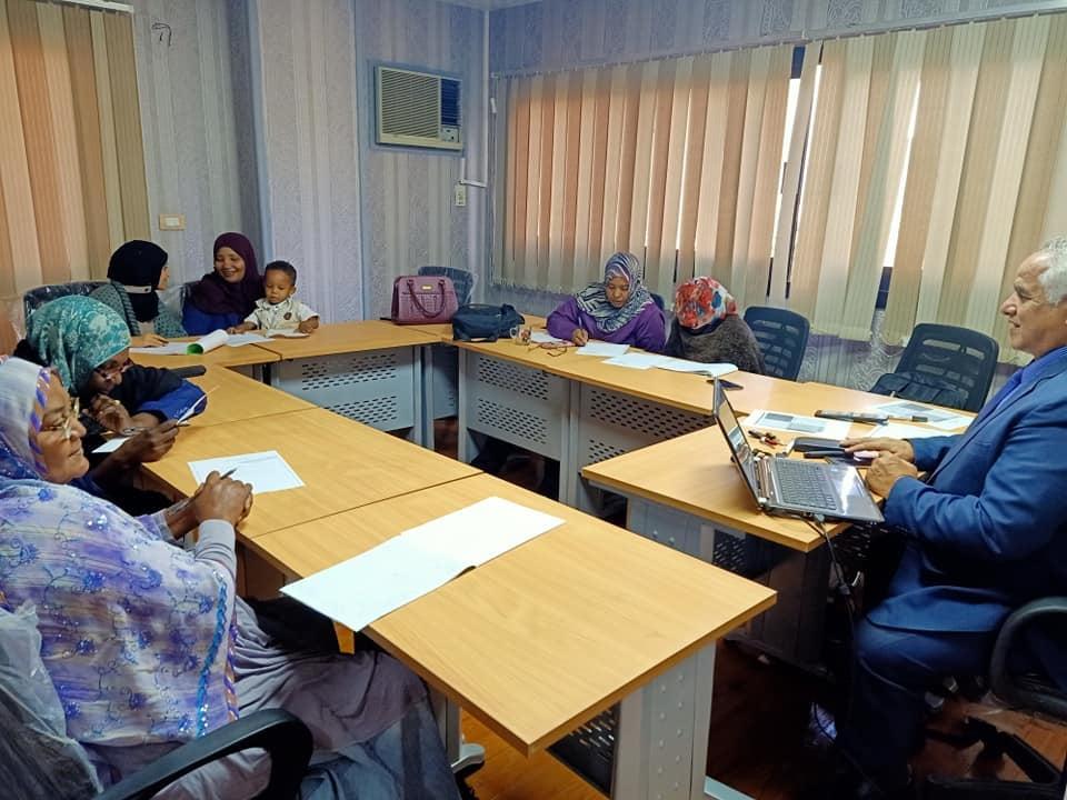 فاعليات ورشة العمل لبرنامج البرنامج المتكامل لسكرتير الألفية التالثة